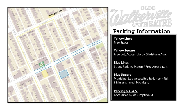 Walkerville Parking Map